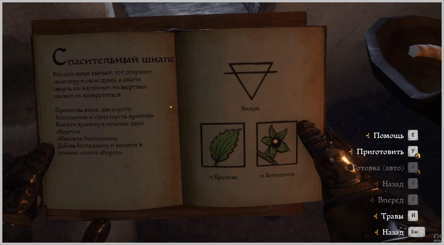 рецепт шнапса