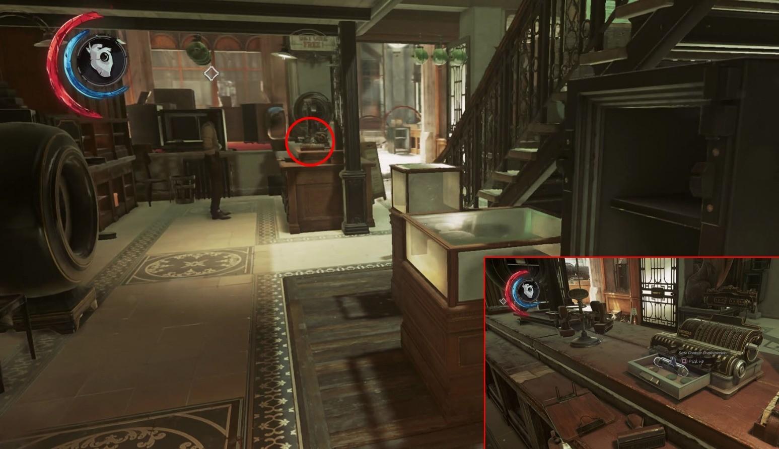 Коды от сейфов Dishonored 2