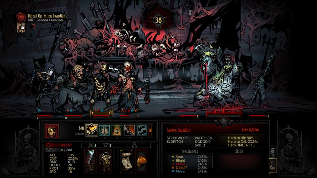 Darkest Dungeon: гайд по Crimson Court и Shieldbreaker DLC