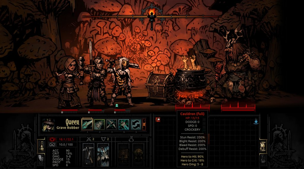 Darkest Dungeon: гайд по боссам