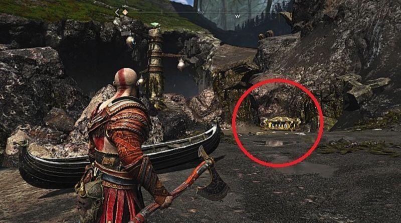 Тайные комнаты и сундуки в God of War