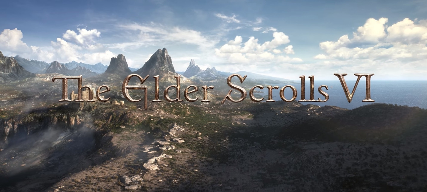 The Elder Scrolls 6 анонс