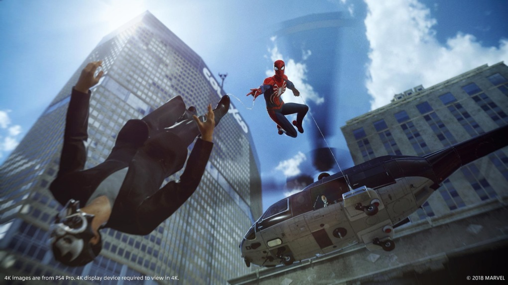 Обзор Marvel's Spider-Man. Дата выхода