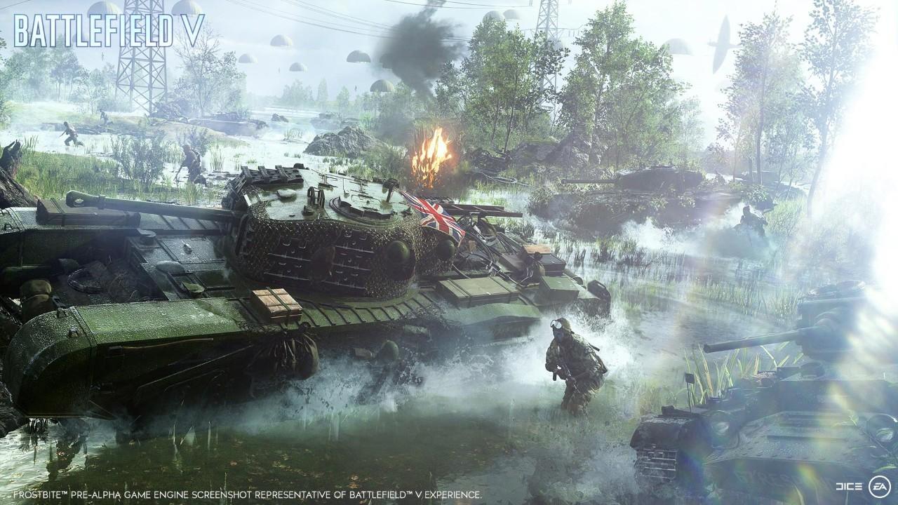 Обзор Battlefield V. Дата выхода