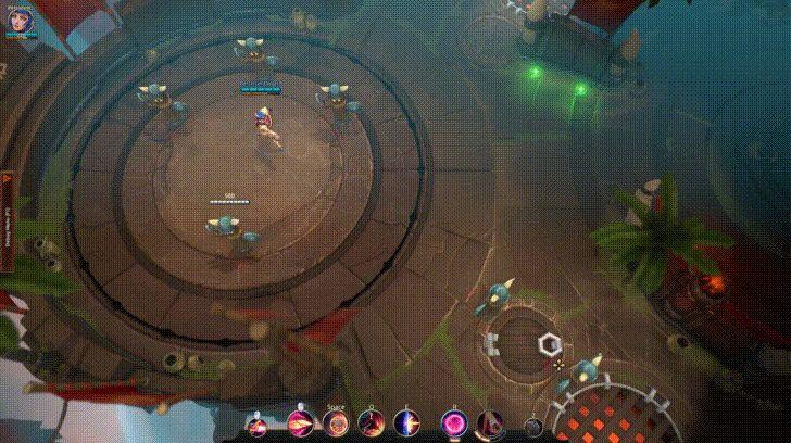 Battlerite: гайд по чемпиону Destiny