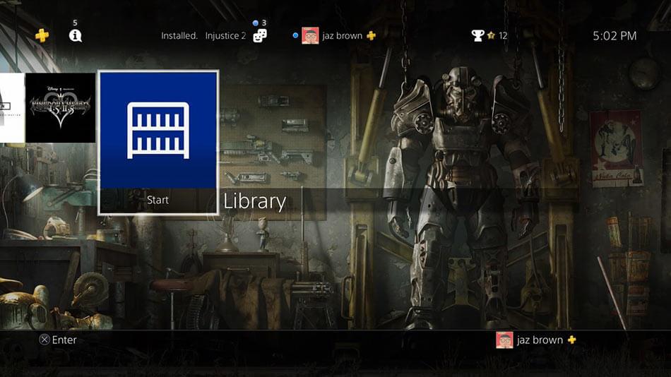 Как удалить игру с PS4. Пошаговая инструкция с фото.