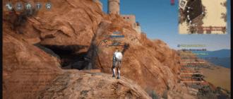 Black Desert: Загадка каменного зала - вход в пещеру под замком Валенсии