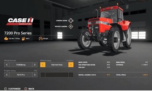 Какой выбрать трактор в FS 19